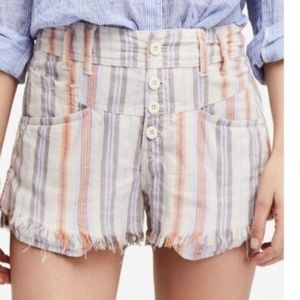 Free People shorts size 8